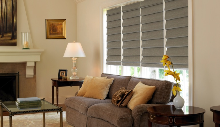 Roman Shades In Boston, MA